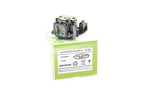 Alda PQ-Premium, Lámpara de proyector Compatible con ET-LAB2 para PANASONIC PT-LB1, PT-LB2, PT-LB1U, PT-LB2U, PT-ST10U Proyectores, lámpara con Carcasa
