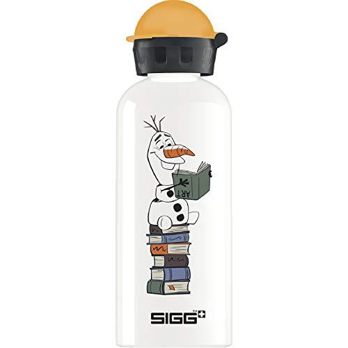 SIGG Olaf II Borraccia bambini (0.6 L), Borraccia alluminio con chiusura ermetica e priva di sostanze nocive, Borraccia bimbi super leggera in alluminio