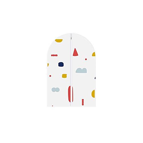 DGGSZN No Tejido Bolsa de Polvo, del hogar Ropa de Guardapolvos, Capa de la Camisa del Juego de la Bolsa for Polvo (Color : A, Size : 60 * 90CM)