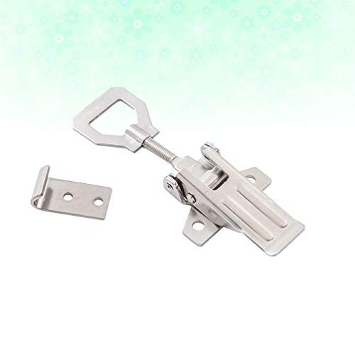 iplusmile Toggle Latch Hasp Metal Heavy Duty Trunk Box Buckle Catch Clip Fastener Locker For Trailer Machinery Containers Cabinets
