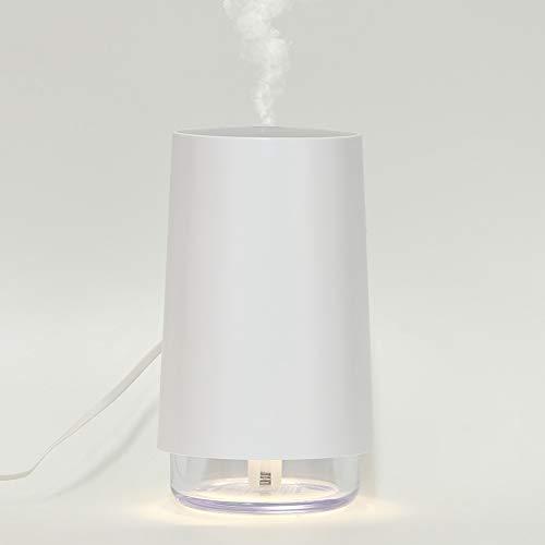 Gugxiom Humidificador Ultrasónico De Niebla Fría USB, Humidificador De Aire De Viaje De 600 Ml, Pantalla De Filtro Ergonómica con Mango Negro para Té Helado para Viajes