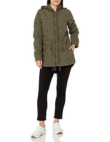 Levi's Women's Cotton Lightweight Fishtail Anorak Jacket (Standard & Plus Sizes), Army Green, Medium