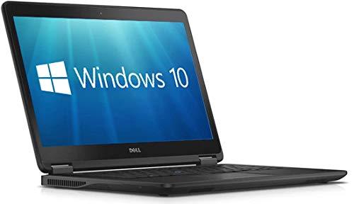 Dell Latitude E7450 Ultrabook - 14' Full HD (1920x1080) Intel Core i5-5300U 8GB 256GB SSD HDMI WebCam WiFi Windows 10 Pro 64-Bit Laptop (Renewed)