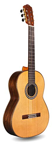 Cordoba C10 Parlor Small Body, All-Solid Woods, Acoustic Nylon String Guitar, Luthier Series, with Polyfoam Case