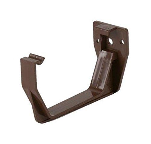 Brown Square Guttering en Downpipe - Dakgoot en pijpfittingen/accessoires Fascia Beugel x 5 BRON