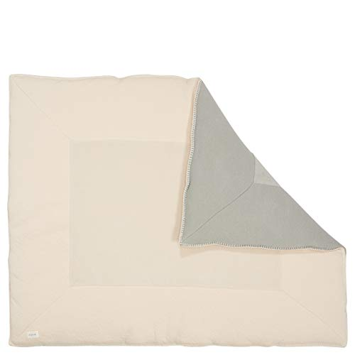 Koeka Laufgittereinlage/Krabbeldecke Runa Leaf/warm White 80x100