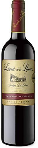 Señorío de los Llanos Crianza - Vino Tinto D.O. Valdepeñas - 1 Botella x 750 ml