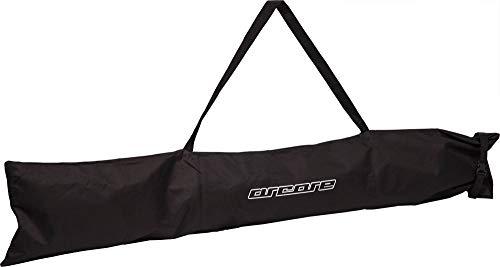 ARCORE Skisack Skicover Skicase für 1 Paar Ski Alpin oder Langlauf robust wasserabweisend schwarz für Ski bis 180cm