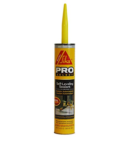 Sikaflex Self-Leveling Sealant, 10.1 fl. oz Cartridge, Gray