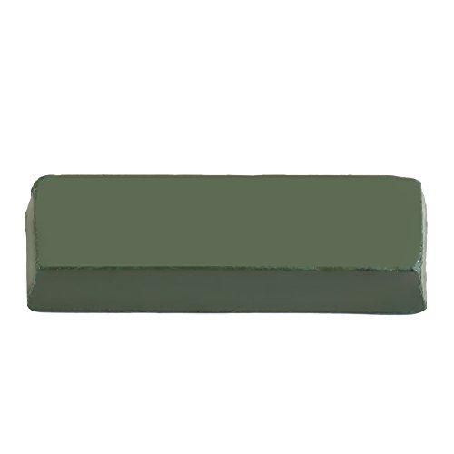 Pasta de pulir, 140G verde fina óxido de cromo pasta abrasiva pulir cera afilado compuestos de pulido