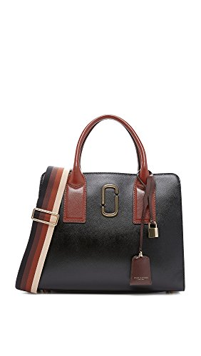 Marc Jacobs Women's Big Shot Satchel, Black Multi, One Size