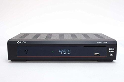 Coolstream Link DVB-C/T NeutrinoHD Linux Full HD Kabel Hybrid Schwarz