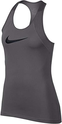 Nike Womens Mesh Dri-Fit Tank Top Gray M