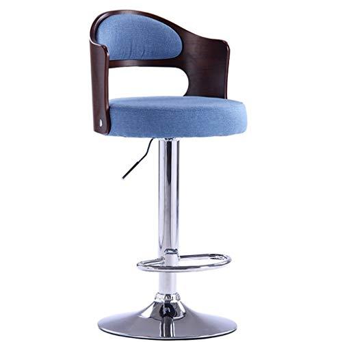 X.Home. Bar stool balkon lounge stoel, hoofd- restaurant hoge kruk kunstleer zitting kan in hoogte draaibare winkel-kop kruk instellen