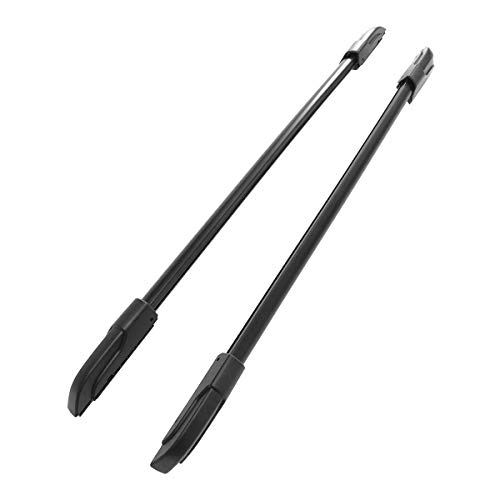 Autoxrun Luggage Carrier Top Roof Rack Side Rails Bars Replacement for 2009-2015 Honda Pilot