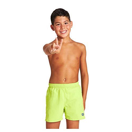 ARENA Fundamentals Jr Costume da Bagno per Bambini, Bambino, Costume da Bagno, 000001B352, Soft Green, 15 Años