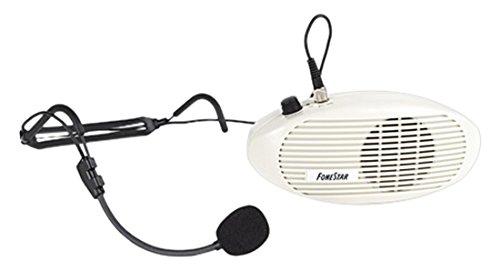 Fonestar FAP-5 - Amplificador compacto de cintura (5 W + 3 W, 100-15000 Hz)