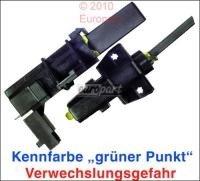 Kohlen 13,5x4,9x34mm mit 4,8mm Anschlussfahne 4,8A für Waschgeräte wie z.B. Siemens AEG Bauknecht Bosch Constructa usw