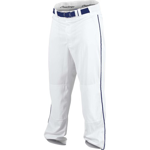 Rawlings Men's Relaxed Fit PP350MRP Piped Baseball Pant