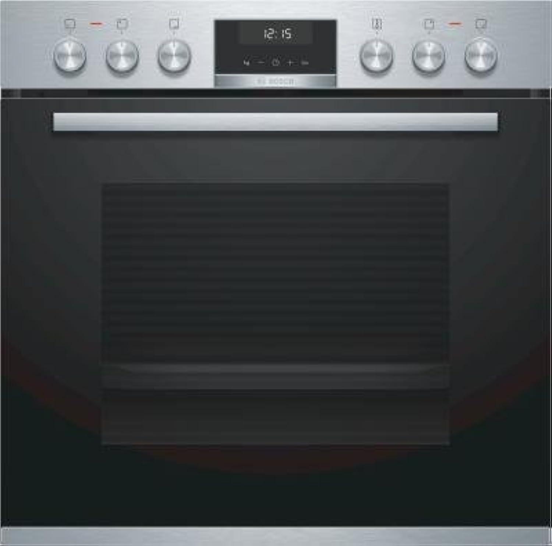 increíbles descuentos Bosch HEB517BS1 - - - Horno (Medio, Horno eléctrico, 71 L, 71 L, 50-275 °C, 275 °C)  protección post-venta