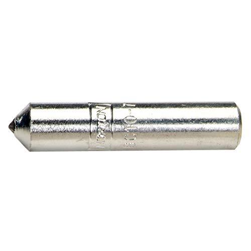 Bright Finish 5//8 Head Length Plain End 1//4 Head Diameter Uncoated 1//4 Shank Bassett SA-1 Cylindrical Solid Carbide Bur Double Cut