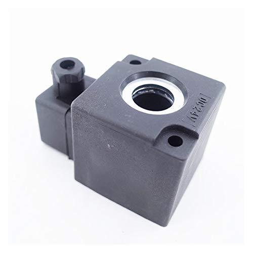 Das elektromagnetische Ventil Hochdruck-Magnetspule 24V DC AC220V for 23JD-8/15 K22 / K23JD K25D K35D2-15 20 25 K23d-2-3 Magnetventilspule Industriebedarf ( Specification : 17.5mm , Voltage : AC220V )