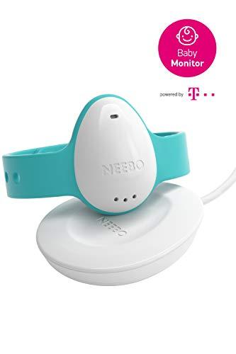 NEEBO Sensor-Armband zur Atmungsüberwachung bei Babys & Kindern | misst Herzfrequenz, Sauerstoffsättigung, Temperatur & Schlafdauer | per Bluetooth auf iOS App (Powered by Telekom)