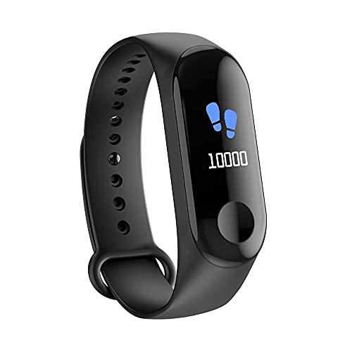 Relojes Digitales Mujer Deporte Podómetro Reloj Redondo Bluetooth Rastreador de Ejercicios Presión Arterial Reloj para Hombres para Fitness Tracker Reloj Inteligente