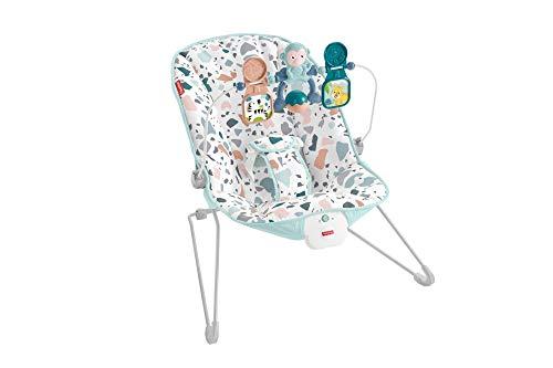 Fisher-Price GWD38 - Hamaca Con Vibraciones Relajantes Para Bebés 0+ Meses (Mattel Gwd38)