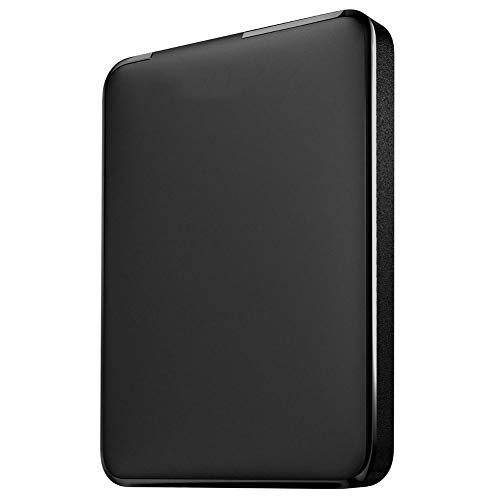 Disco Duro Externo HDD Alta Velocidad Estable USB3.0 160 GB / 250 GB / 320 GB / 500 GB / 1 TB / 2 TB Ultradelgado Portátil Disco Duro Externo (160GB,Negro)