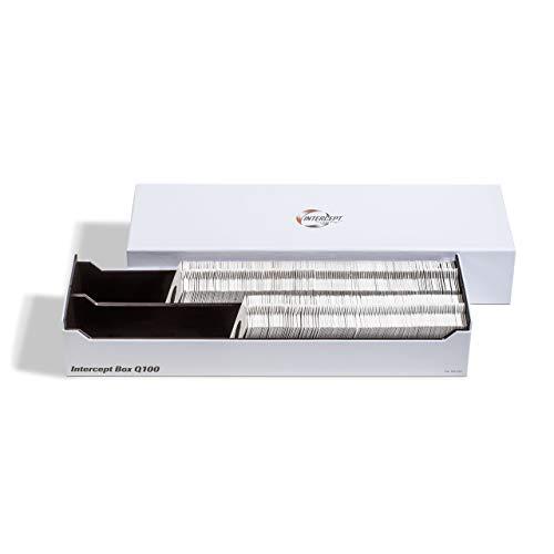 Caja Intercept Q 100 para 100 cápsulas QUADRUM o aproximadamente 300 cartones de monedas
