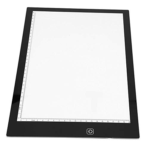 Kopieerstation LED Touch dimmen, USB LED grafisch tablet touchpad animatie potlood schets lichtbox nieuwe A4 voor kunstenaars animatie schetsen kunstenaars tekenen ontwerpen sjablonen