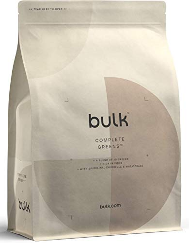 Bulk Powders - Complete Greens/Super Greens Powder Pure and Natural (Mixed Berry, 500 g)