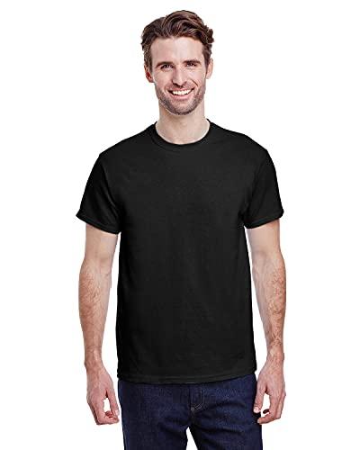 Gildan Men's G2000 Ultra Cotton Adult T-shirt, Black, X-Large