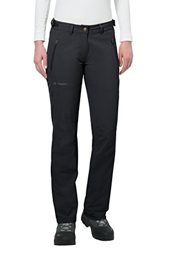 VAUDE Damen Hose Women's Farley Stretch Pants II, Black, 40, 045760100400