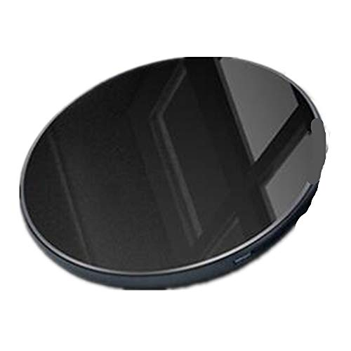 RHGEIUCY Teléfono móvil Cargador inalámbrico Wireless Smart Carga Fast WINESESS Carga RÁPIDA (Color : Black)