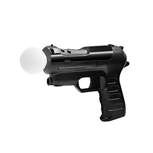 Tihokile Pistola para controlador PS4 VR, Soporte del Mango del Controlador Móvil Playstation 4 / VR es Adecuado para los Juegos de Disparos PS3 / PS4 / PS VR