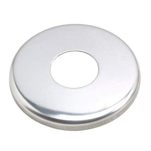 WOLFPACK LINEA PROFESIONAL 4041805 Embellecedor Escudo Abombado Acero 1/2'