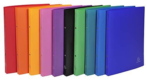 Exacompta 541999E Cartelle ad Anelli, 32x25 cm, Multicolore