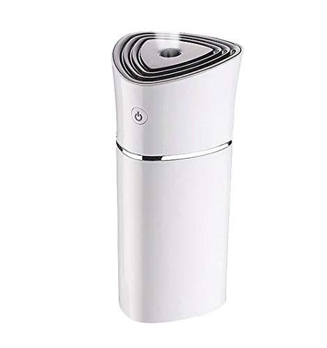 WO NICE Luftbefeuchter 220 ml Bunte Lichter Wassermangel Abschalten Schutz USB Aufladbare Tragbare Ätherisches Öl Diffusor