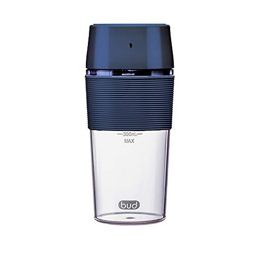 BUD Mini Standmixer Mini Mixer Tragbare Multifunktionale mit USB wiederaufladbare, Glassaftextraktor für Haushalt, Reise, Outdoor, Juicer Standmixer FDA, BPA-freie (Blau)