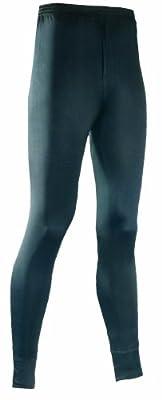 Terramar Men's Thermasilk Filament Pant Tall (Black, X-Large)