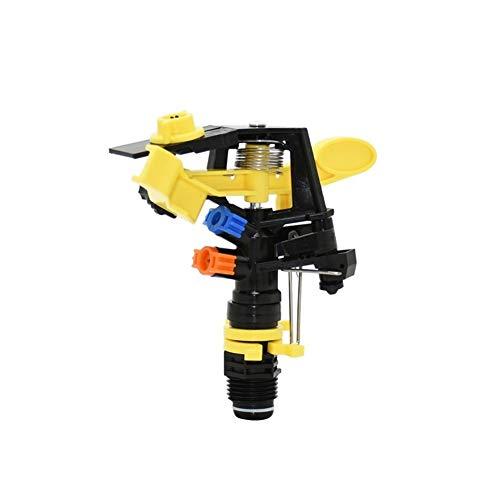 XY-Gardening supplies Conveniente 360 Grados Que giran el Eje de balancín de rociadores de Boquilla Ajustable Granja aspersores Boquilla for 1/2 3/4' Hilo 2pcs Decorativo (Color : 1I2 3I4)
