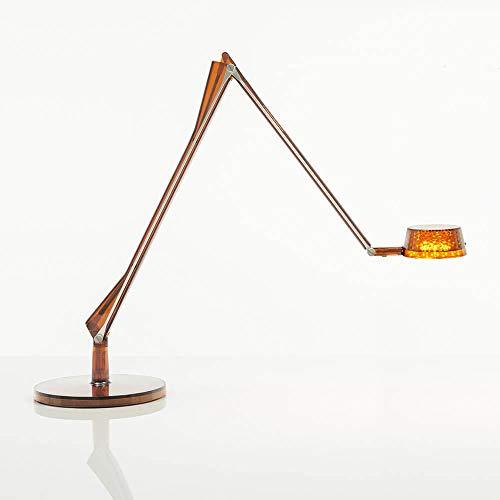 Kartell Aledin Dec lámpara de mesa transparente ámbar
