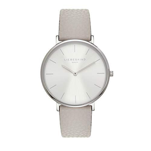 Liebeskind Berlin Damen Analog Quarz Uhr mit Leder Armband LT-0255-LQ