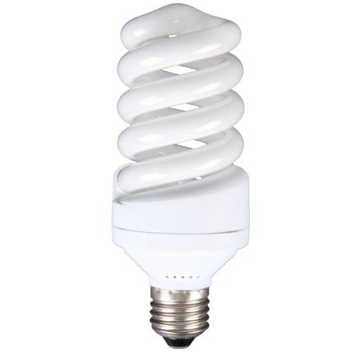 Walimex pro Spiral-Tageslichtlampe 30 W - Daylight Spirallampe Fotolampe Energiesparlampe, E27 Fassung, 5500K Tageslicht, 30 W entspricht 150 W Glühbirne, für Softbox und Reflektor