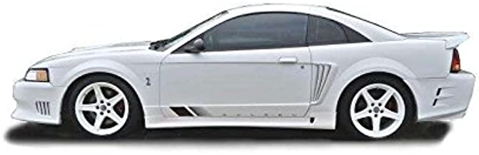 KBD Body Kits Compatible with Ford Mustang 1999-2004 Sallen Style 2 Piece Flexfit Polyurethane Side Skirts. Extremely Durable, Easy Installation, Guaranteed Fitment, Made in the USA!