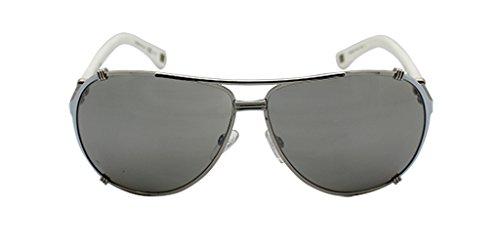 Dior Damen Diorchicago2Str Ss Naj 63 Sonnenbrille, Silber (White/Grey)