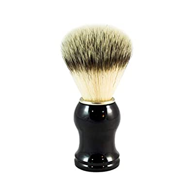Clear Confidence Co Synthetic Shaving Brush - Vegan-Friendly Shave Brush with Synthetic Bristles by Clear Confidence Co