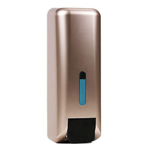 QARYYQ zeepdispenser voor de muur, schuimzeep, handperforatie, desinfecterend, losse flessen, badkuip, douchegel, druk zeepdispenser
